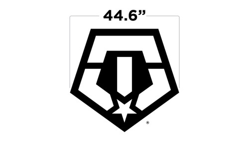 "44.6"" TIS Logo Large Door Decal"