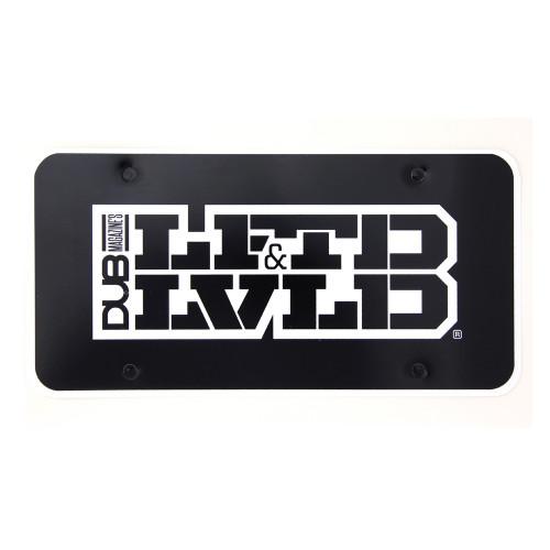 LFTD & LVLD license plate insert