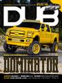 DUB Magazine Issue 97 featuring Joe Peralta's MC Customs-built Ford F-250.