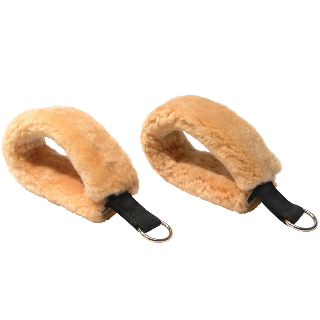 Foot Loops, Sheepskin (pair)