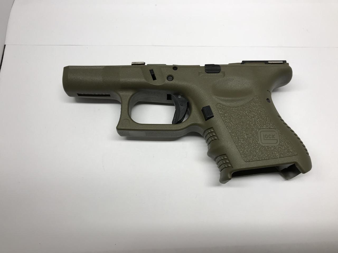 Glock Sub Compact 26 Frame Gen 3 9mm OD Green NEW - Lucas Tactical LLC