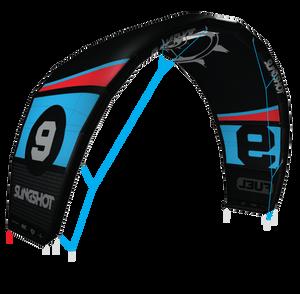2015 Slingshot Fuel Inflatable Kite