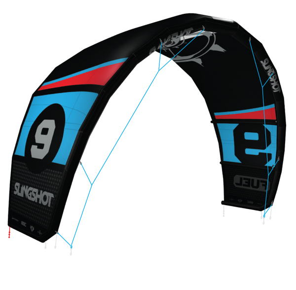 2015 Slingshot Fuel Inflatable Kite