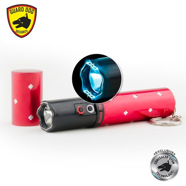 Guard Dog Electra Lipstick Stun Gun Flash Light