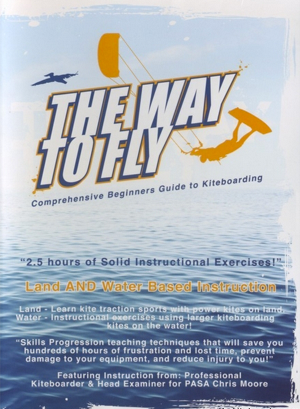 The Way to Fly Kiteboarding DVD