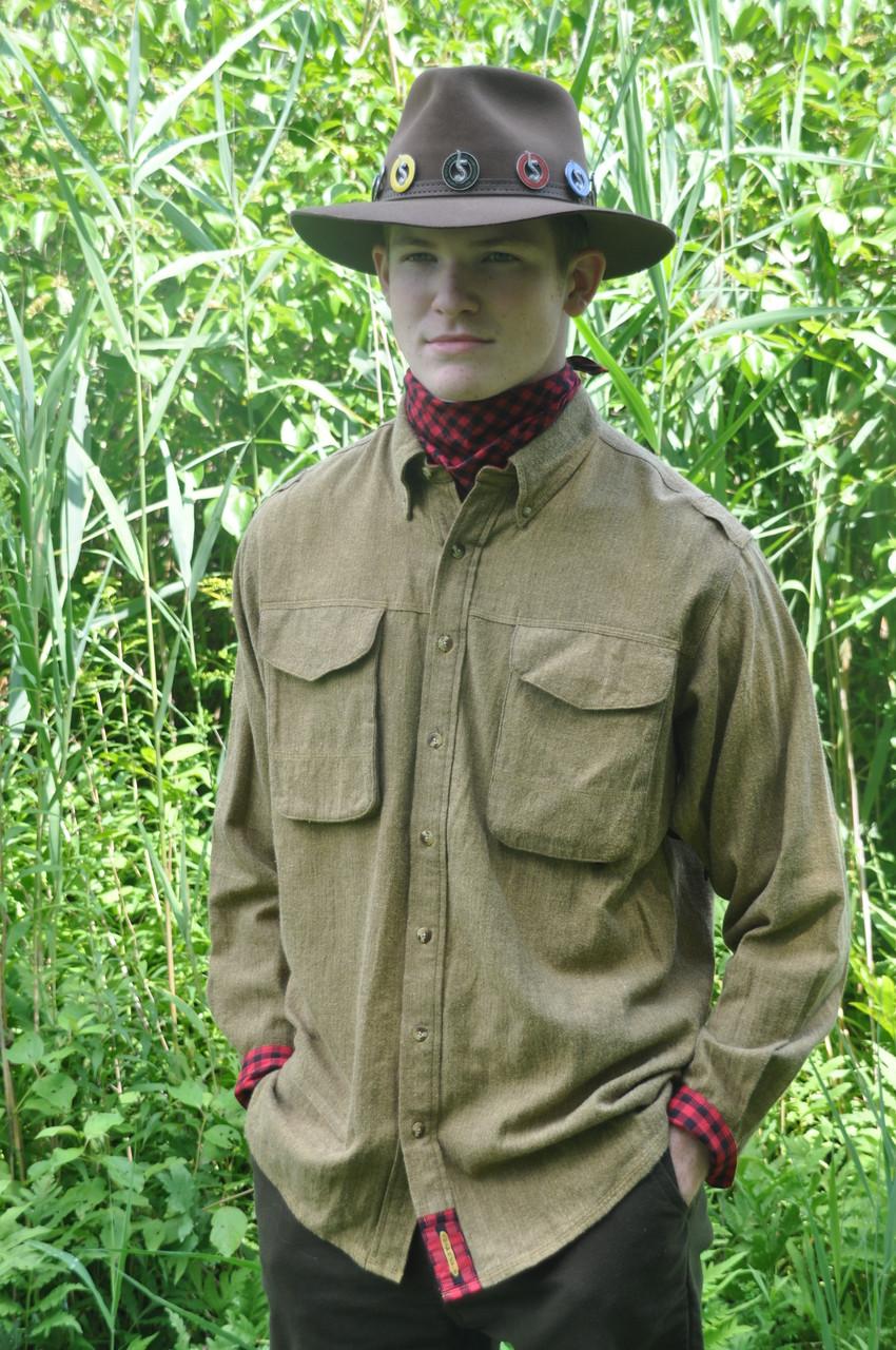 Exventurer - Saffron Shetland Flannel