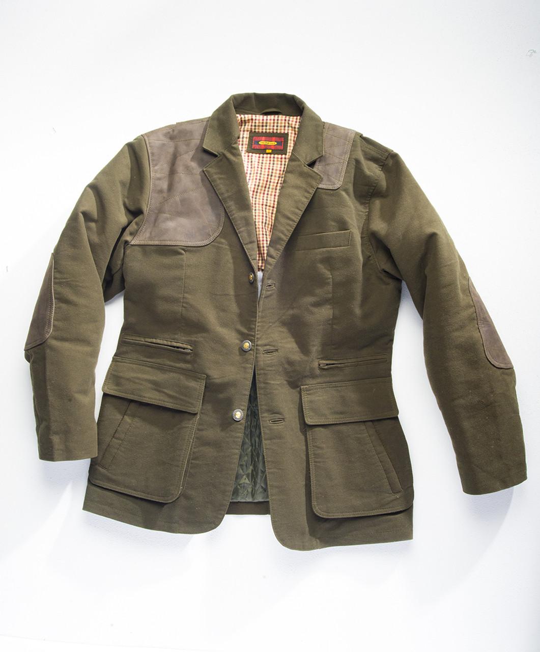 Estate Artemis Moleskin Sports Jacket - Ecosse Green