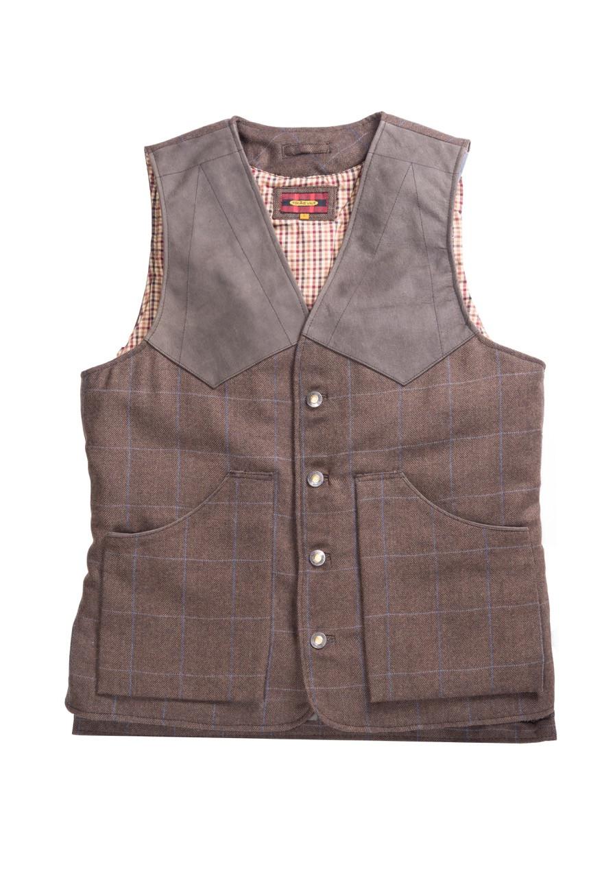 Artemis Tweed Wool Vest