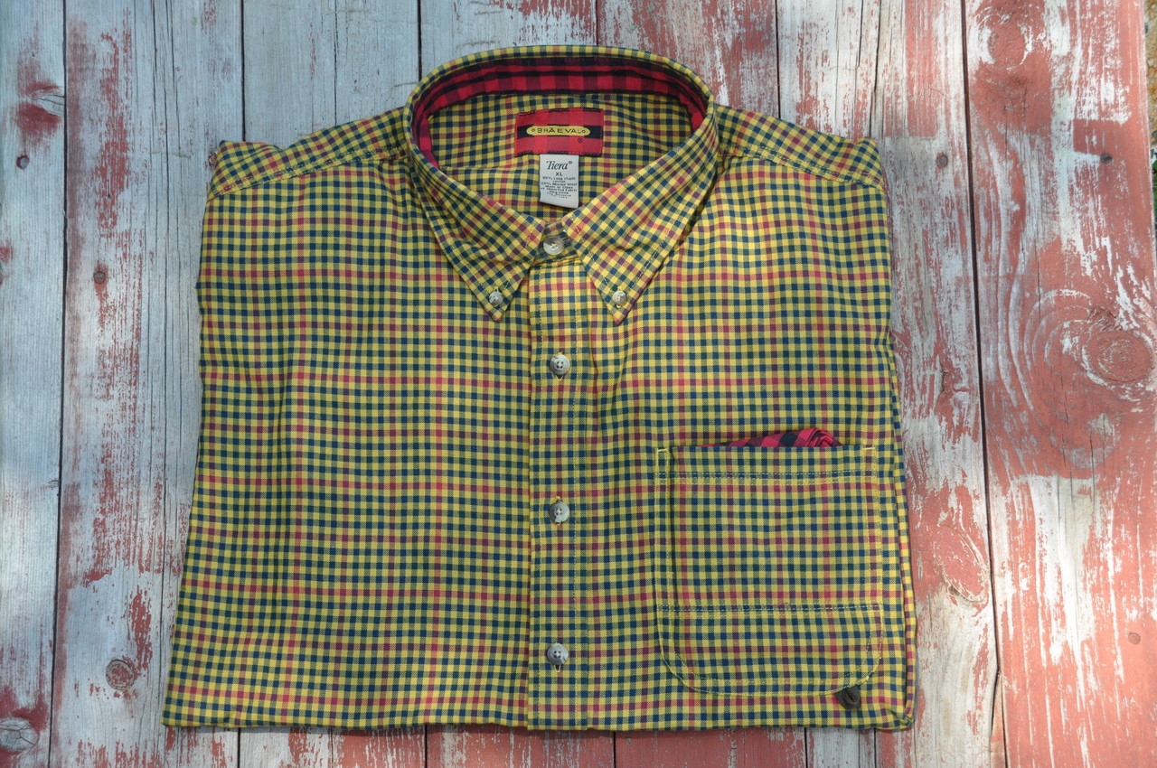 Litchfield - Gold and Navy Rust Check - 25% OFF