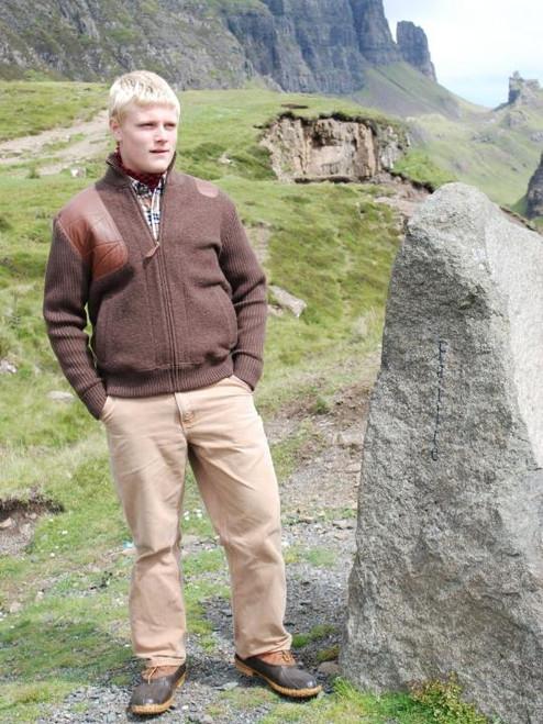 Estate Artemis Sweater - Brown Melange - 30% OFF