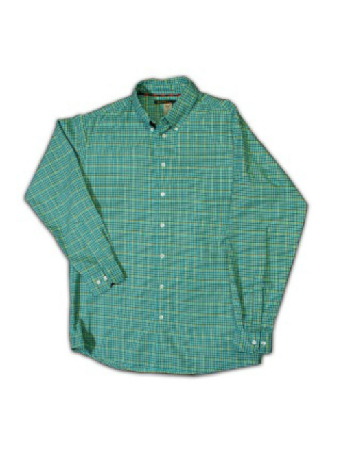 Essex - Teal & Black Check Lime Window Pane - 25% OFF