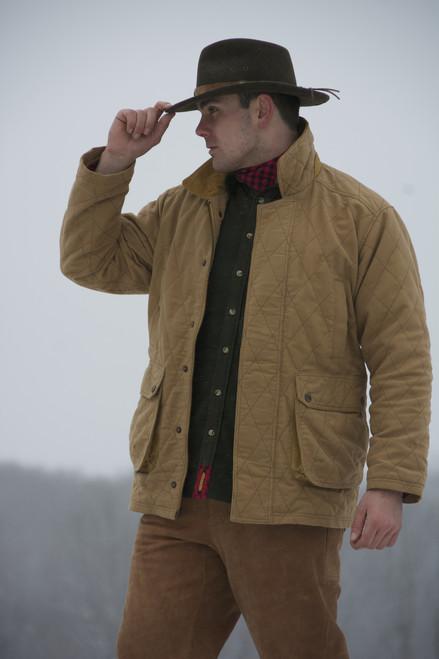 Exventurer Moleskin Jacket - Camel - 25% OFF