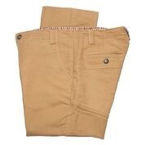 Highland Moleskin Trousers - Camel - 30% OFF
