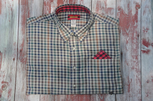 Litchfield - Deep Tan, Navy, Green, Bold Check, Bronze Window Pane - 25% OFF