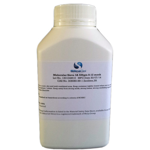 Molecular Sieve 3A 500gm