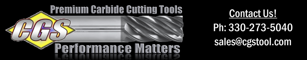 CGS Tool | End Mills | Solid Carbide Cutting Tools