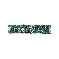 BABYLISSPRO GREEN LONG BRUSH ROLLERS DOZEN - BESITRLGRUCC