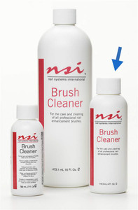 NSI BRUSH CLEANER  4 FL. OZ. (118.3ML.)