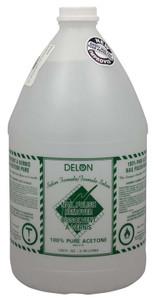 DELON RMVR 100% PURE ACETONE GAL