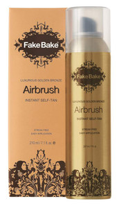 FAKE BAKE AIRBRUSH SELF-TAN AEROSOL SPRAY 7OZ