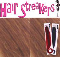 "MINI HAIR STREAKER BROWN 12"""