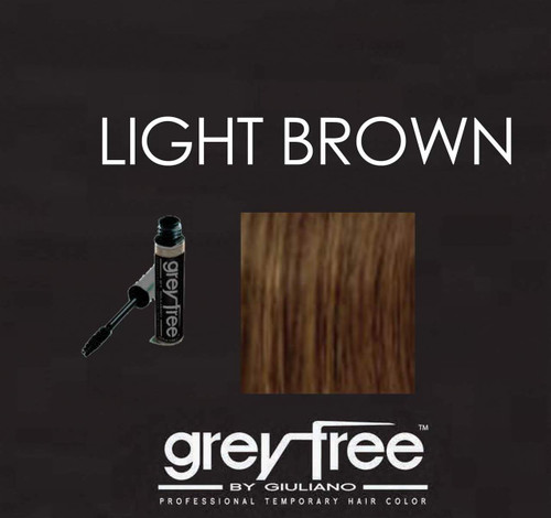 GREYFREE LIGHT BROWN MASCARA