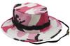 Pink Camo Boonie Hat