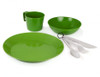 GSI Outdoors Cascadian 1 Person Table Set- Green