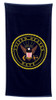Navy Beach Towel