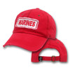 Marines Red Washed Cap