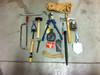 Vintage Lineman's Metal Tool Kit