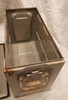 Military Issue 20mm Link Ammo Box Used
