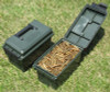 MTM Case-Gard Plastic 50 Caliber Ammo Can AC-50C--11 Forest Green