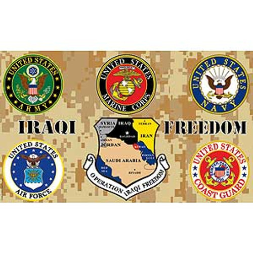 Iraq Freedom Flag