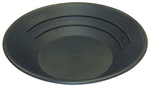 "Gold Pan 14"" - BLACK Plastic"