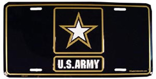 US Army Star License Plate