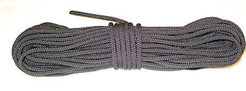 """1/4"""" x 100ft Utility rope Black Color"""
