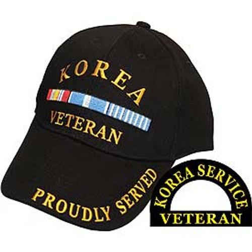 Korean Veteran Baseball Cap