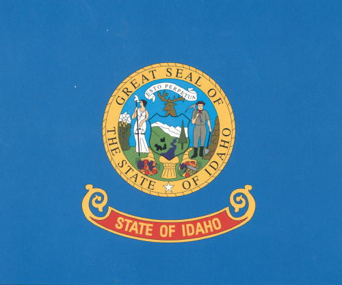 State of Idaho Flag