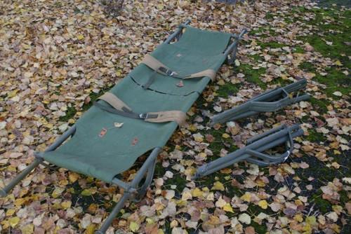Swedish Folding Military Stretcher Canvas