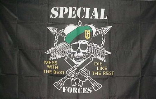 Special Forces Mess with the Best Flag