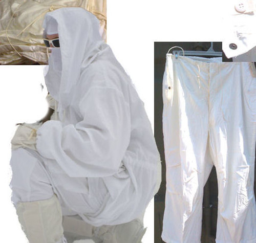 GI Issue Snow camo Trousers White