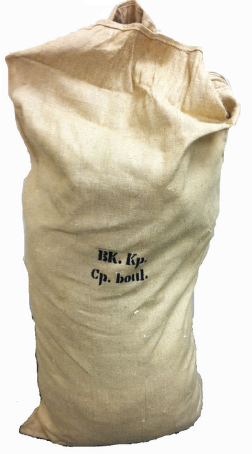 GIANT CZECH BURLAP BAG
