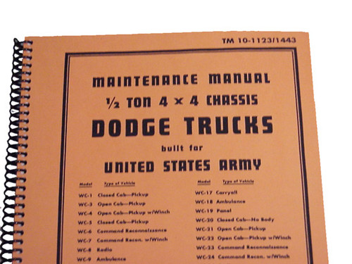 Dodge 1/2 Ton 4 x4 Manual