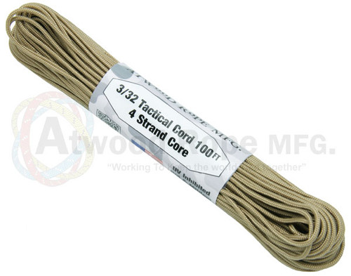 3/32 TACTICAL CORD 100 FT.