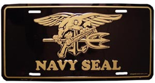Navy Seal License Plate