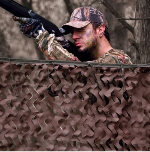 """Red Rock Outdoor Gear Big Game Field Series Camo Netting SIZE: 3'7"""" x 10'"""