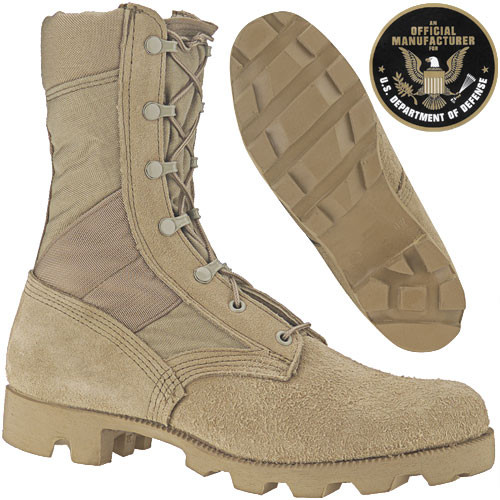 GI Issue Tan Desert Jungle Boot Hot Weather