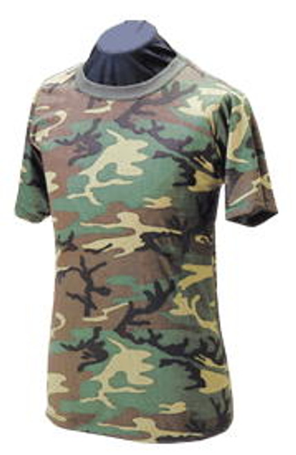 Adult Woodland Heavyweight T-Shirt