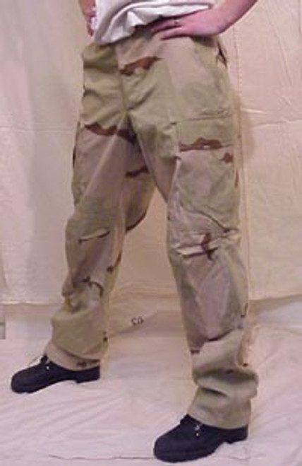 3 Color Desert BDU Pant